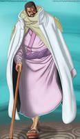 Admiral Fujitora by McFrankyArt