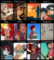 Summary of art 2017 by Ayaluna