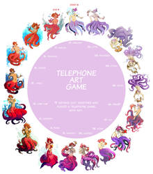 Telephone Art Game by Ayaluna