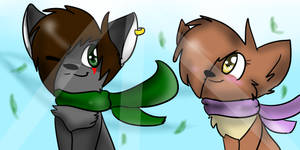 Tukari and Fizzy::PC:: by indieroses