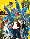 Megas XLR: 5 Years of Rock On by grimphantom