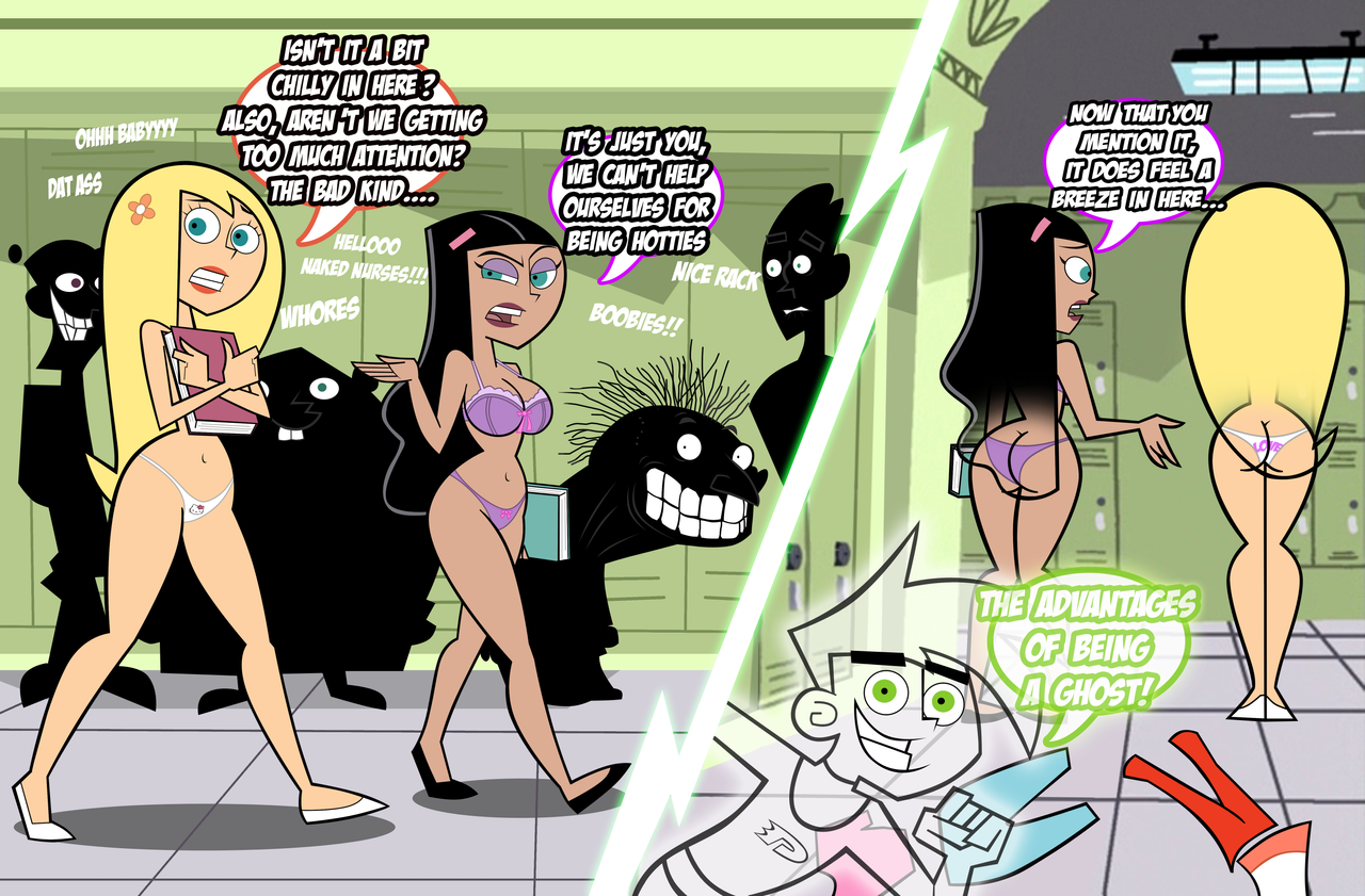 Danny Phantom: The Advantages of Being a Ghost by ...