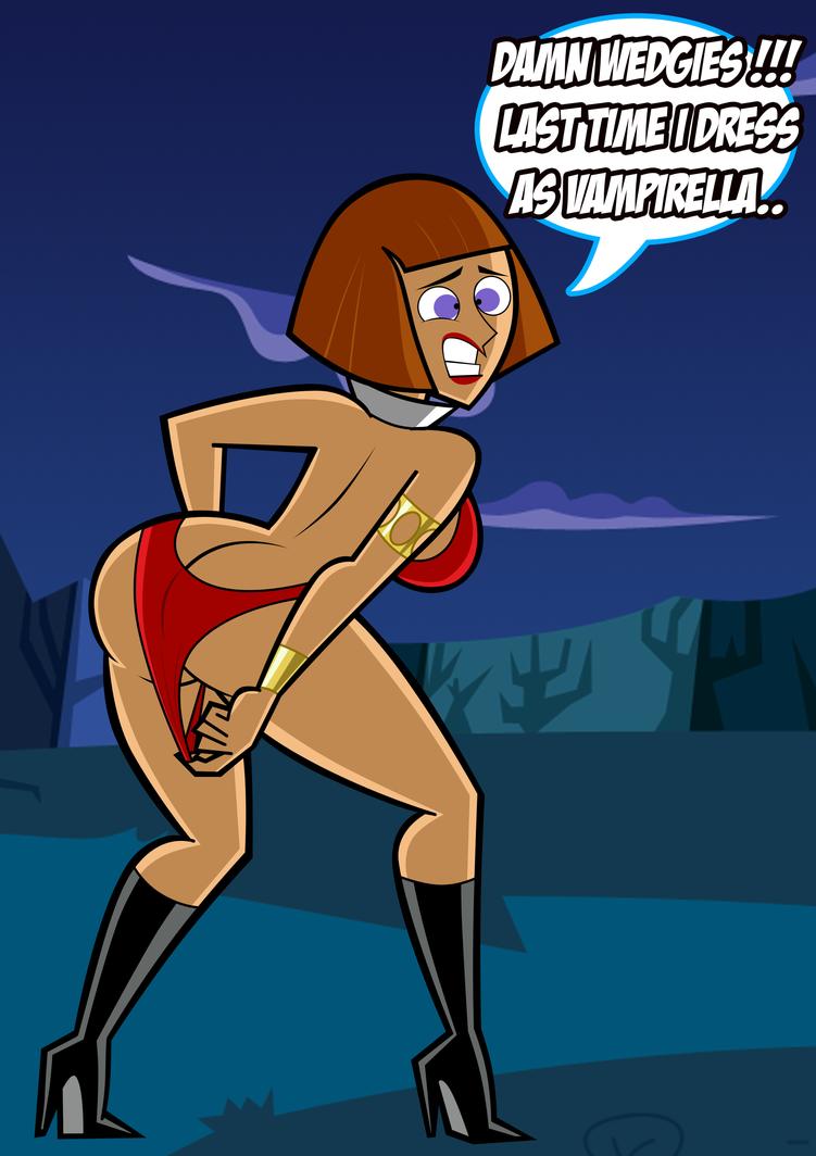 Halloween Maddie as Vampirella: Wedgie Problems by ...
