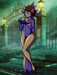 Commission: Halloween Velma Frankencreepy by grimphantom