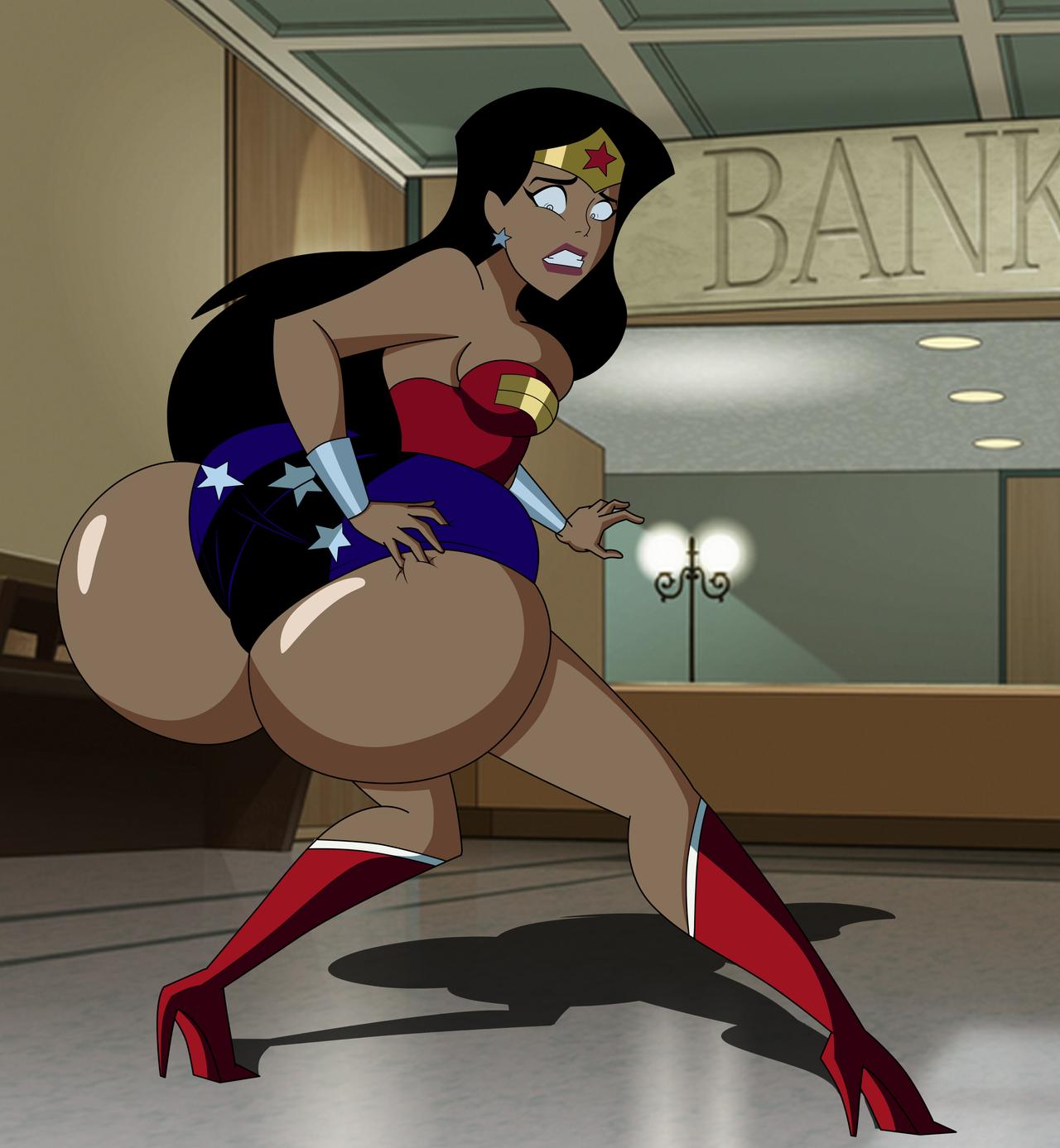 Wonder Woman Butt 38