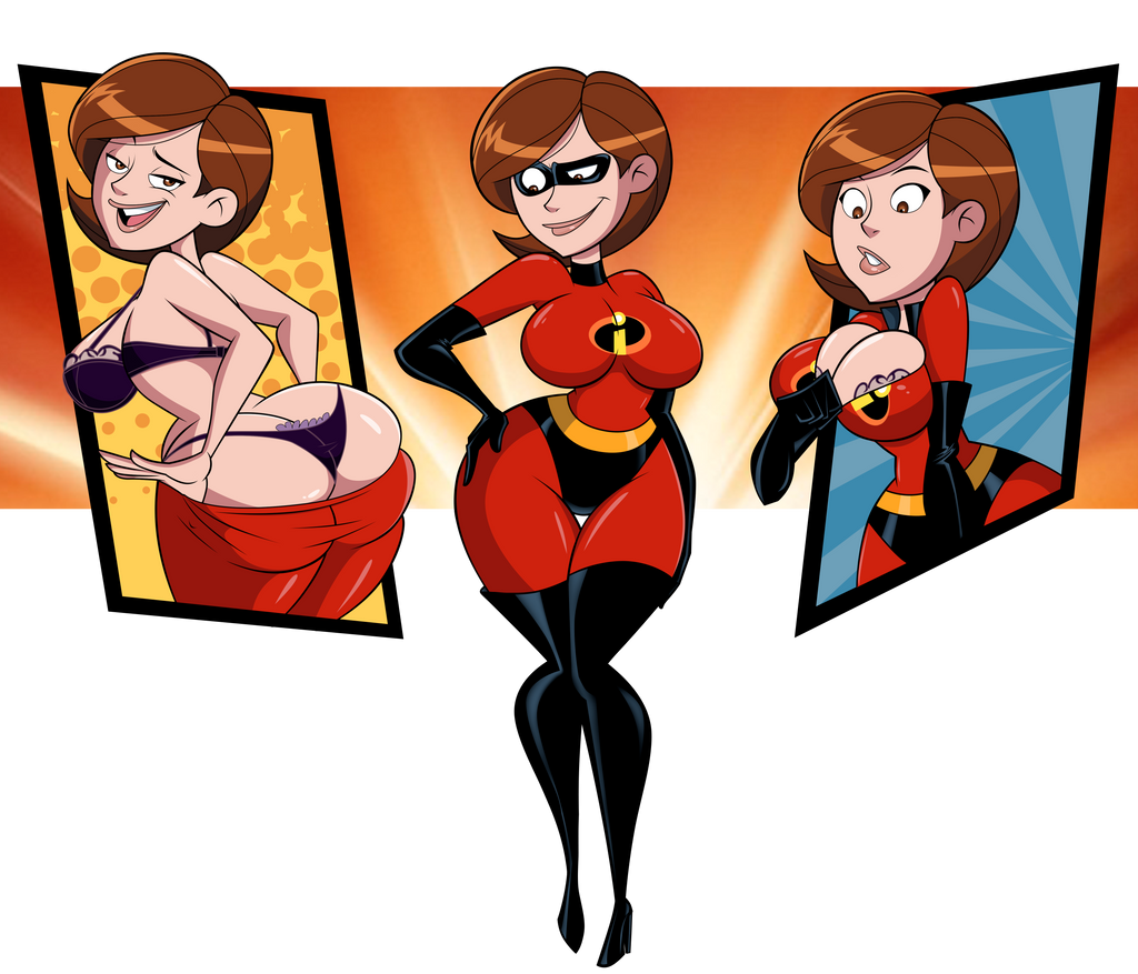Commission: Elastigirl, Ready to Fight Crime by grimphantom
