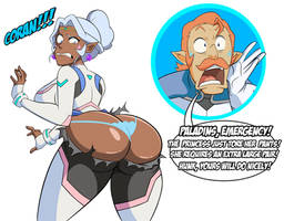 Commission: Allura's Shapeshifting Problems by grimphantom