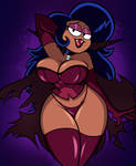 Halloween Commission: Dhampir Milf