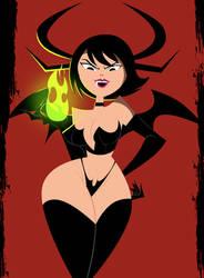 Halloween Succubus Ashi by grimphantom