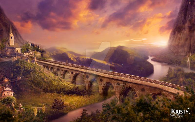 El puente viejo by sirkeht