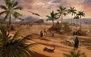 Campamento de beduinos by sirkeht