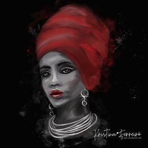 Afro Portrait 2