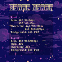 (UPDATED) Simple Price Sheet