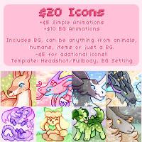Icon Price Sheet