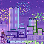 New Years Eve with Sailor Moon