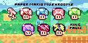 Paper Mario Mushroom Twitch Badges