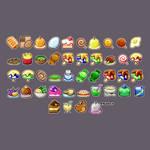 Paper Mario 64 Recipe List