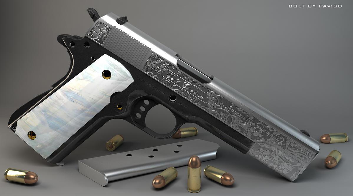Hideaki Takagane Colt_1911_Custom_by_jimficker