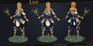 Lux - League of Legends by jimficker