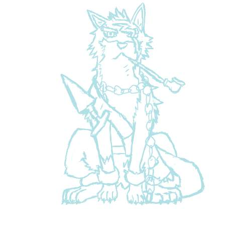 Tal's Art Gallery (updated 11/11/14) Vesperia__repede__sketch__by_talent412-d439eh5