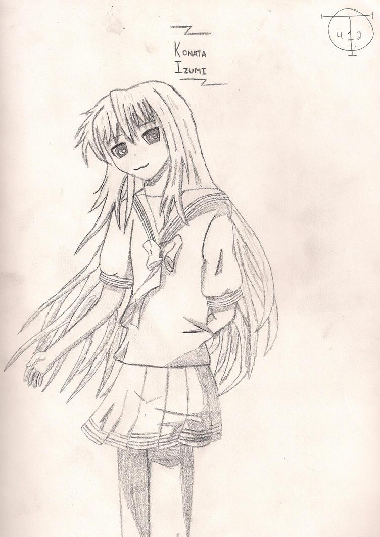 Tal's Art Gallery (updated 11/11/14) Konata_izuki_sketch_by_talent412-d486pj4