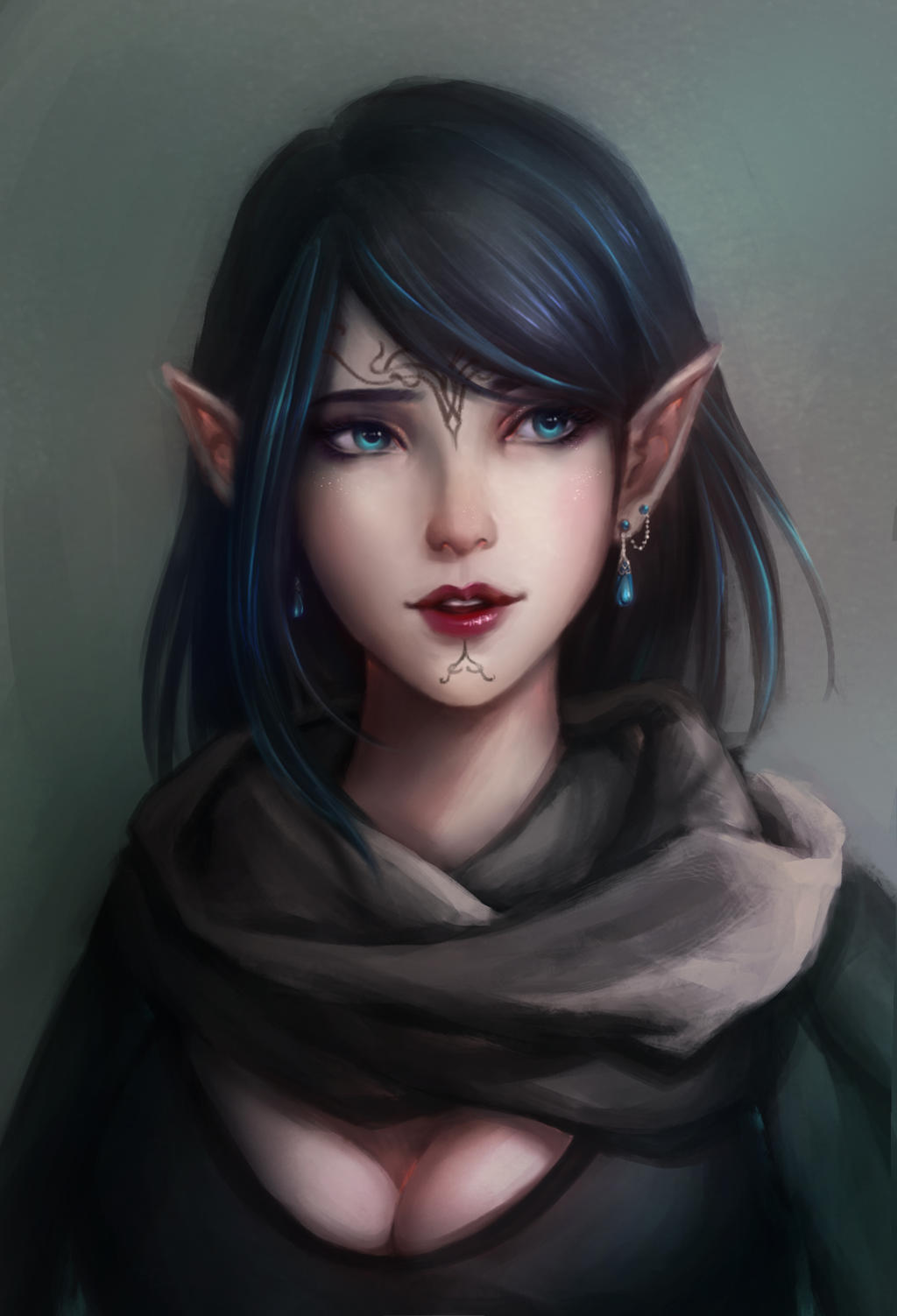 DAI_Inquisitor Lavellan by rieko1910
