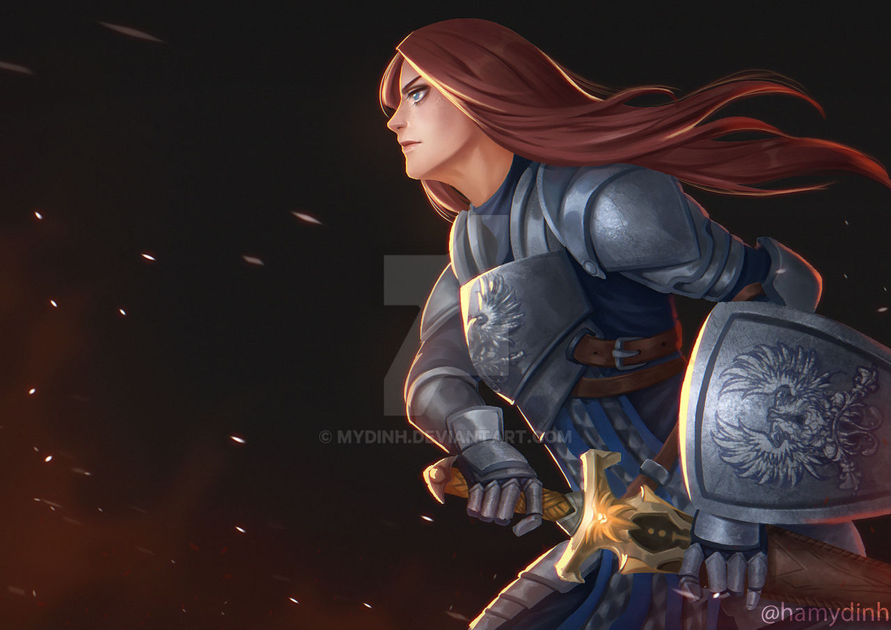 The Grey Warden _ dragon age origins fanart