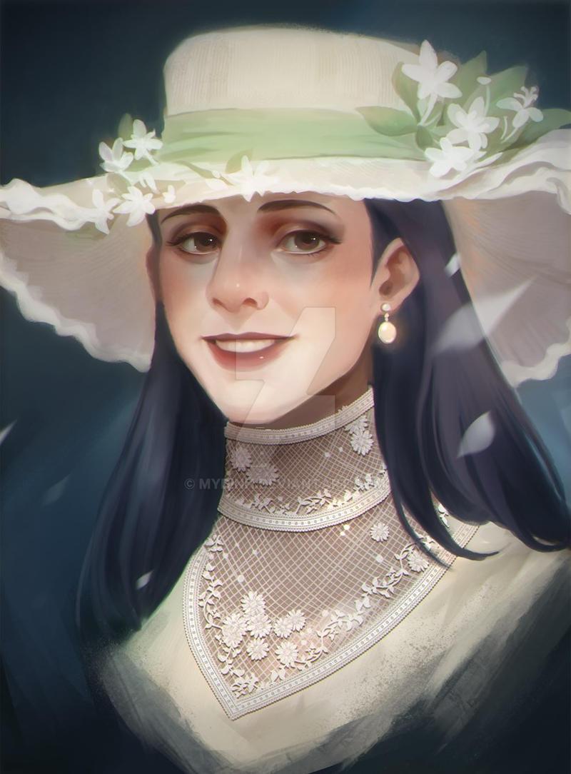 Commission portrait lady