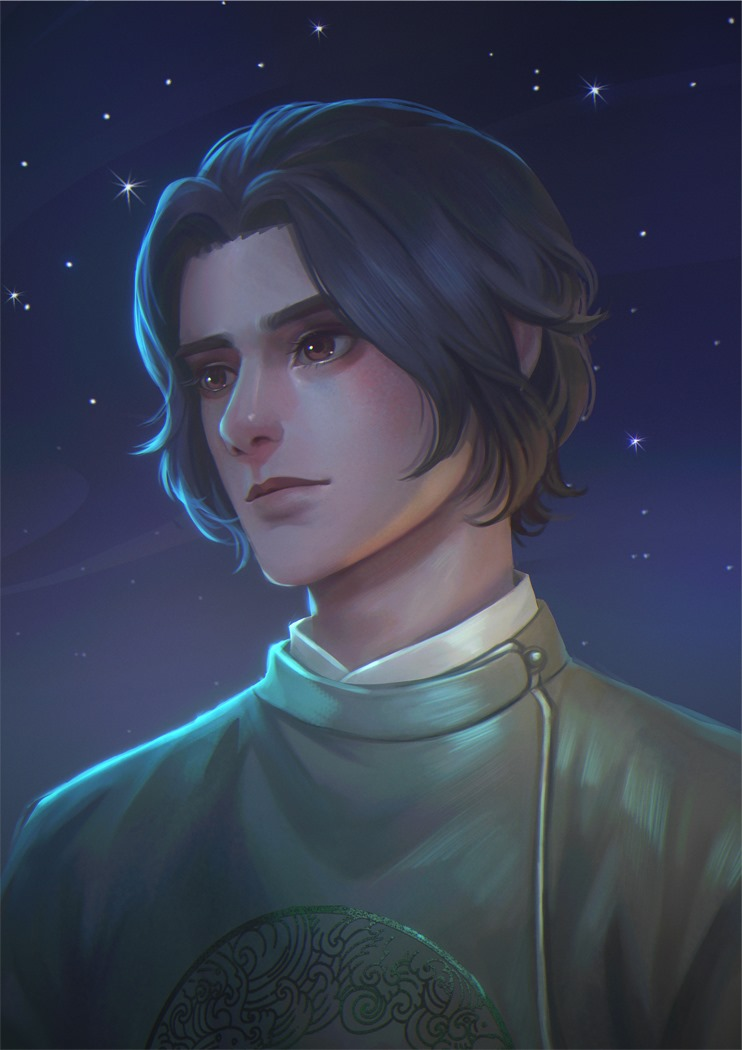 Commission portrait dnd character