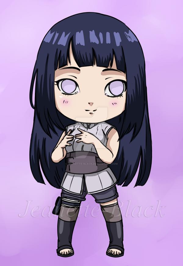 Chibi Hinata by Jeanette-Black