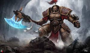 Warhammer 40k Custodes General