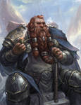 Dwarf Cleric - DnD Commission