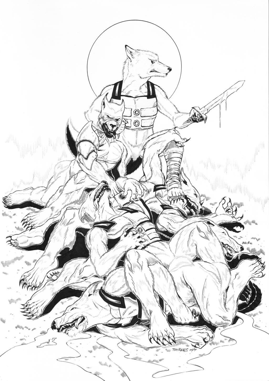 Akira Bounty Hunter by KeIIion
