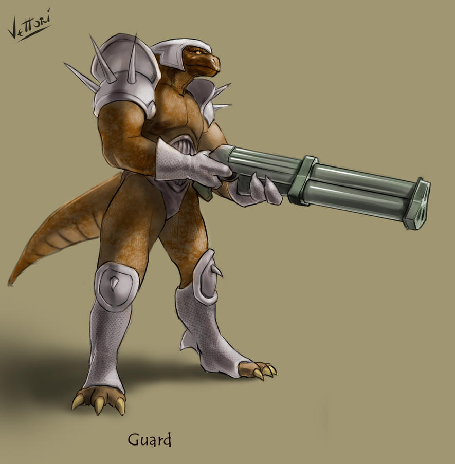 Turok Evolution [2002] Sleg Troops : Guard by KeIIion