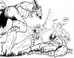 Grimgar of Fantasy and Ash - Kobold  Ambush by KeIIion