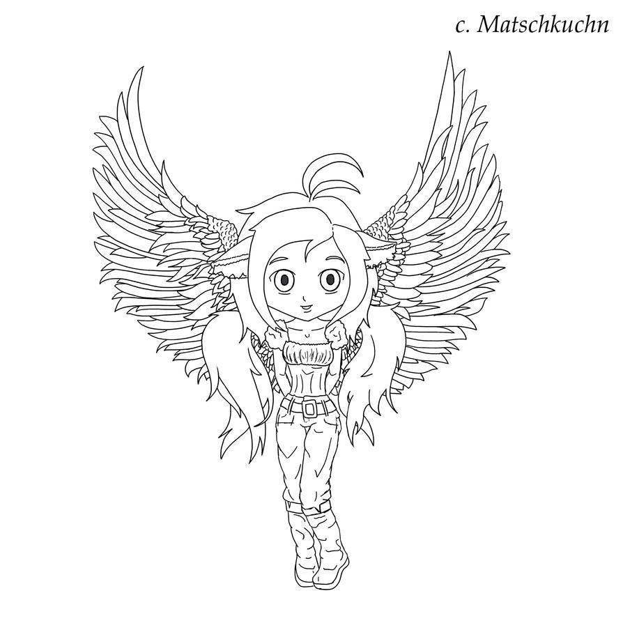 chibi angel wings - photo #23