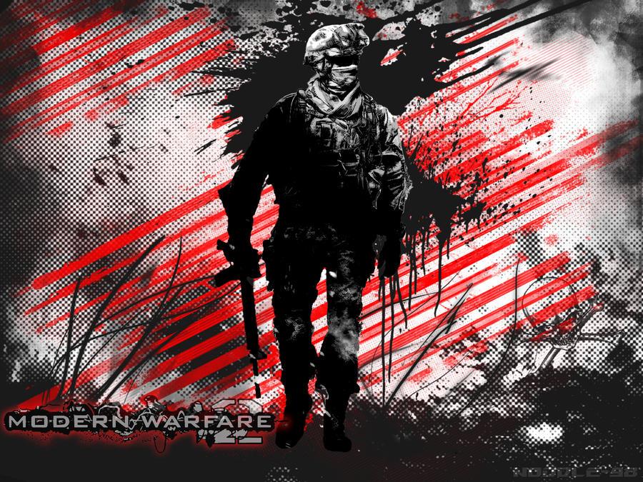 Modern Warfare 2 Wallpaper By Noodle98