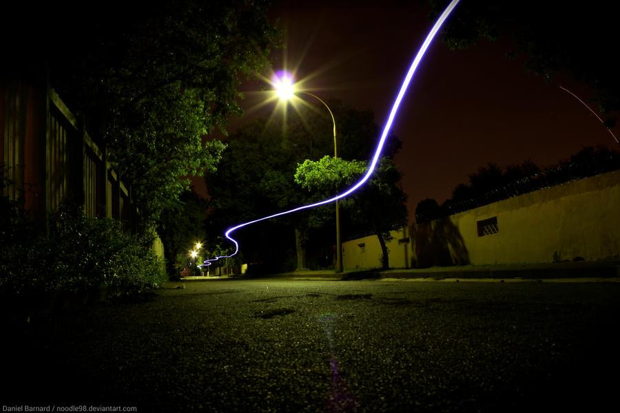 Long Exposure Longboarding Light Trail by noodle98 ... & Long Exposure: Longboarding Light Trail by noodle98 on DeviantArt