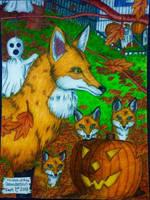 Rita the Fox and the Three Kits by Hartzler35