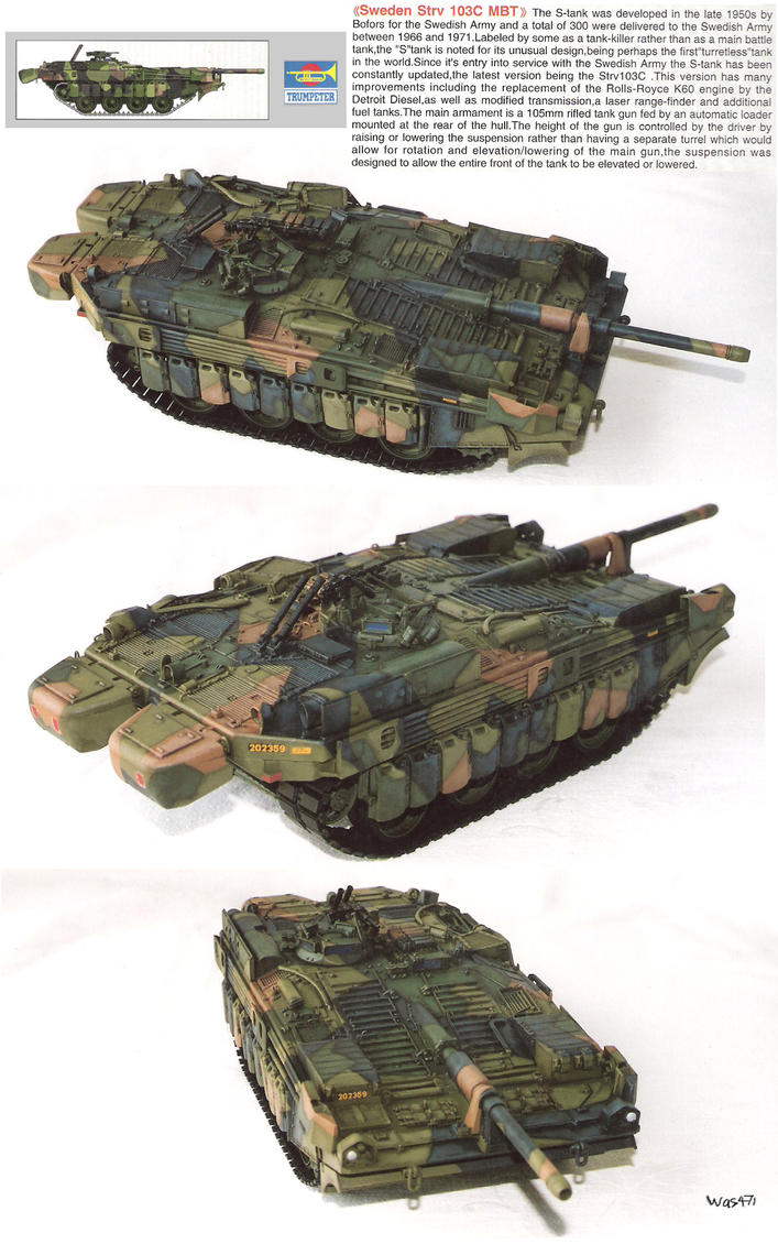 Strv 103c Mbt by was471