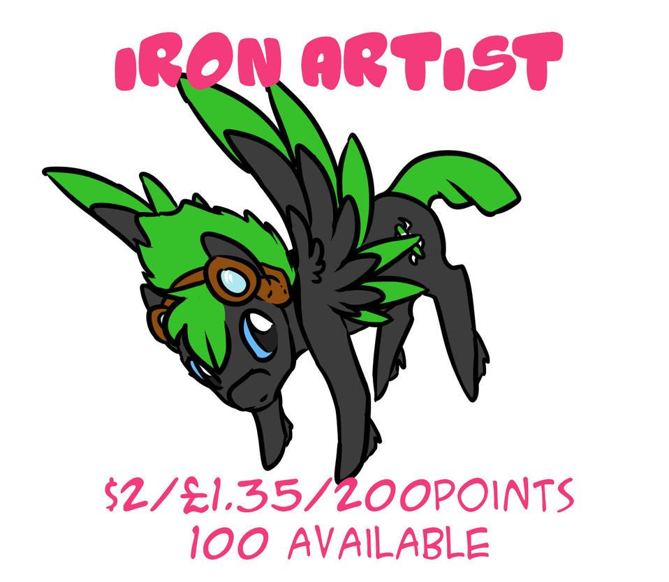 IronArtist_OPEN by LilLoate