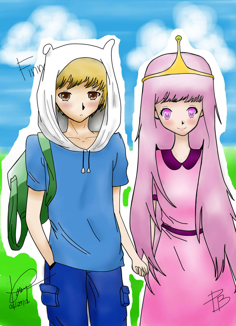 Adventure Time (PB and Finn) Anime ver. by kawaii04otaku ...