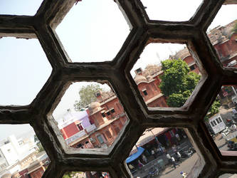 A View from Jaipur City Palace by leonard-shelby