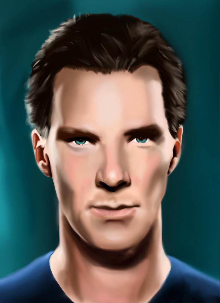 Benedict Cumberbatch by frankiem05