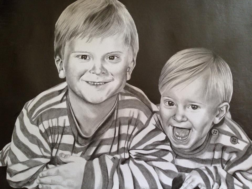 My brother and me by frankiem05