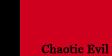 Chaotic Evil stamp by evilblackbunny