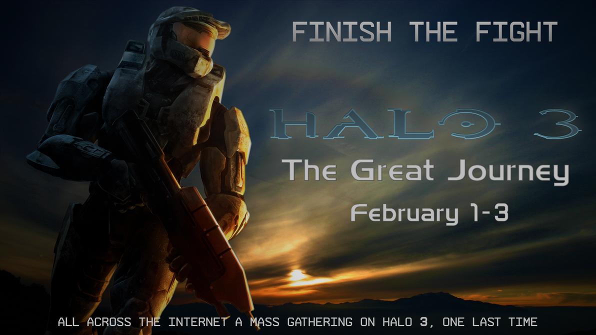 Halo 3: The Great Journey by DeepFriedD0nut