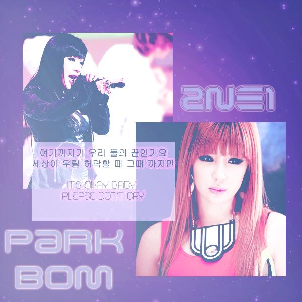 Park Bom 2NE1 by TokkiOwO