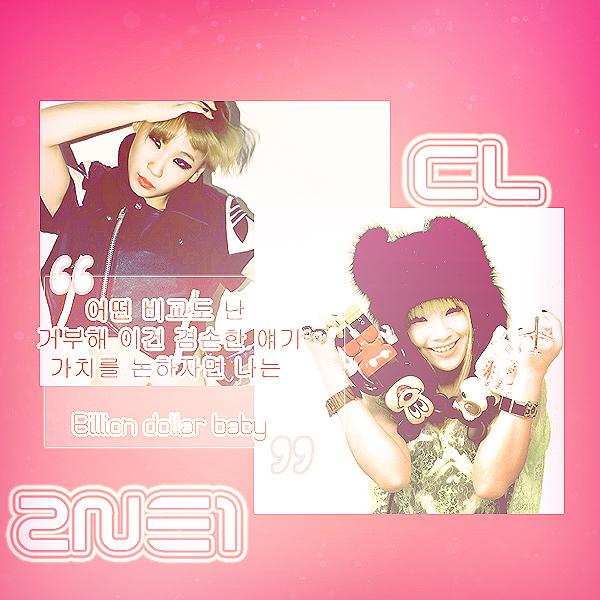 CL 2NE1 by TokkiOwO