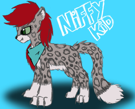 Niffykid Feral Form by niffykid
